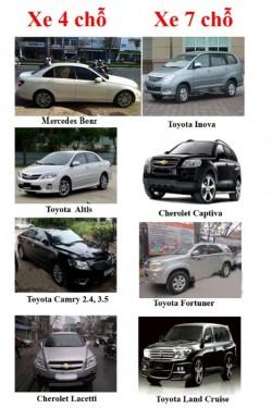 Thuê xe để tập lái